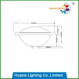 Lámpara gruesa de la piscina del bulbo LED del vidrio 24W PAR56