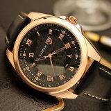 342 Qualitäts-Mann-Geschäfts-Uhr-Kristall-Dekoration-Armbanduhr für Männer