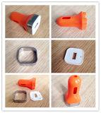 최신 추천하십시오! 새로운 도착 다채로운 USB 차 충전기 주거에 의하여 환영되는 디자인 주문 USB 차 충전기 주거 또는 플라스틱 주입 형