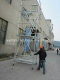 Torre do andaime do GV Ringlock para a construção