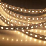 2835 tira caliente de la cuerda del blanco 120LEDs/M LED
