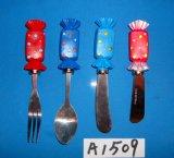 Ножи сыра с украшением ботинка Санта смолаы