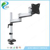 Corchete de aluminio del montaje del monitor del brazo Ys-Ae12g del monitor Angly de la rotación al azar de Jeo