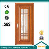 Дверь твердого деревянного типа стеклоткани французского деревянная