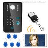 家の機密保護のための防水無線WiFiのビデオドアの電話通話装置のドアベル