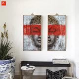 Jogo Handmade da pintura a óleo da arte delicada da parede de Buddha