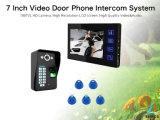 Supporta 1000 impronte digitali che degli utenti il video periferico del telefono del portello del campanello per porte sblocca le schede di identificazione della macchina fotografica