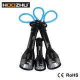 Hoozhu D12のダイビングライトクリー語Xm-L2 LED最大1000lmは100mを防水する