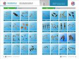 Terminales de latón de componentes eléctricos de suministro (HS-DZ-0062)
