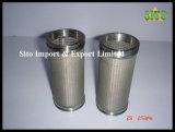스테인리스 316 철망사 물 또는 가스 또는 기름 실린더 필터