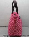 Bolso impermeable Yf-CB1640 de la raya del algodón de la manera del bolso del refrigerador de la lona