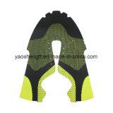 Parte superior de sapatas de Flyknit do poliéster para sapatas atléticas do homem e da mulher