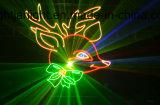 2.4W RGB farbenreiches Animation-Laserlicht