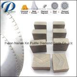 A pedra de China que processa o diamante utiliza ferramentas o segmento da estaca do metal para o granito