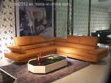 Sofà domestico del cuoio genuino della mobilia (H2981A)