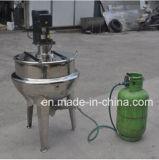 Acero inoxidable con camisa al vapor Pot (vapor / calefacción eléctrica)