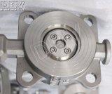 Industrielle elektrische dreifache Oblate-Drosselventile des Exzenter-CF8