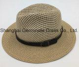 서류상 벨트 (Sh023)를 가진 밀짚 모자에 의하여 인쇄되는 모자