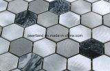 De Tegels Aashnb2102 van de Muur van de Badkamers van Backsplash van de Keuken van de Decoratie van de Tegels van Matel van de Steen van de Tegels van het Mozaïek van het aluminium
