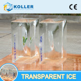 Macchina trasparente del ghiaccio in pani di 100% da refrigerazione di Koller