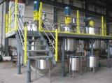 el tanque de mezcla aislado 500liter del acero inoxidable con el mezclador del raspador