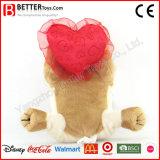 Valentinstag-weicher Tierspielwaren-Hund
