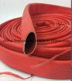 Manguera de goma flexible de fuego 2.5 pulgadas 3 capas el fuego del manguito de la lucha contra/manguera a prueba de calor