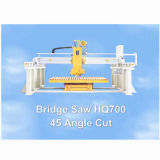 Каменный автомат для резки с машиной гранита/мраморный моста Sawing (HQ700)