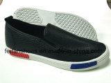 Zapatos ocasionales del deporte de los zapatos de lona de la inyección de los hombres (FFYJ1226-03)