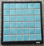 Mattonelle di ceramica blu di vendita calda