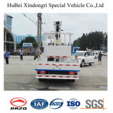 O caminhão de Naveco 4*2 montou a plataforma de trabalho aéreo de 14-16m