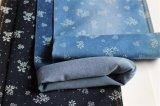 Denim mercerizzato Spandex del poliestere del cotone ampiamente usato per i jeans delle donne