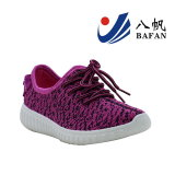 Neues freundliches Gewebe-materielle obere Sport-Schuhe
