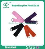 Cinghia di yoga del cotone con le fasce di resistenza dell'inarcamento del Cinch