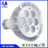 Luz interna Dimmable MR16 GU10 do ponto do diodo emissor de luz do projector 7X1w 7W