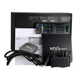 PRO S905X 1GB+8GB cadre TV de l'androïde 5.1 TV de Mxq coulant le cadre d'Ott TV