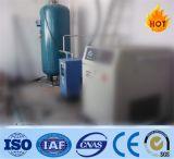 空気圧縮機のための縦の空気貯蔵タンク