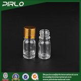 bottiglia vuota materiale di vetro di uso dell'olio essenziale di 5ml 0.17oz con il coperchio a vite del metallo