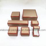 Cadre en bois de luxe fabriqué à la main du type 2016 de vente en gros de caisse neuve de bijou