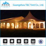 1000の人のマルチ側面の端の贅沢な最も高いピークの混合された結婚披露宴のドームのテント