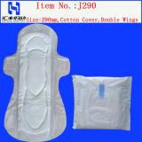 女性および綿の女性衛生パッドのための日の使用の静かに極度の薄く使い捨て可能な女性生理用ナプキン