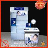 Unidad de visualización cosmética del estante de visualización del maquillaje