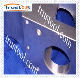 Borde de la pieza de rotación del CNC del acero que trabaja a máquina inoxidable