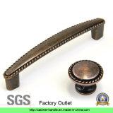 ファクトリー・アウトレット亜鉛合金の家具のハードウェアの引出しの食器棚の引きのハンドルの家具のハンドル(Z 033)