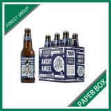 Sechs Satz-Bier-verpackenkasten