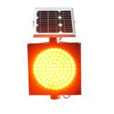 van de Gele LEIDENE van 300mm Licht het Opvlammende ZonneWaarschuwing van het Verkeer