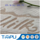 OEM de alta calidad de fibra láctea tejido de punto Jacquard