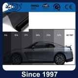 Пленка окна автомобиля цвета угля стабилизированная прочная солнечная покрашенная