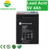 Bateria acidificada ao chumbo recarregável do elevado desempenho 6V 4ah