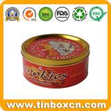 مستديرة قصدير صندوق لأنّ معدن هبة يعبّئ صندوق, طعام قصدير وعاء صندوق, قصدير علبة
